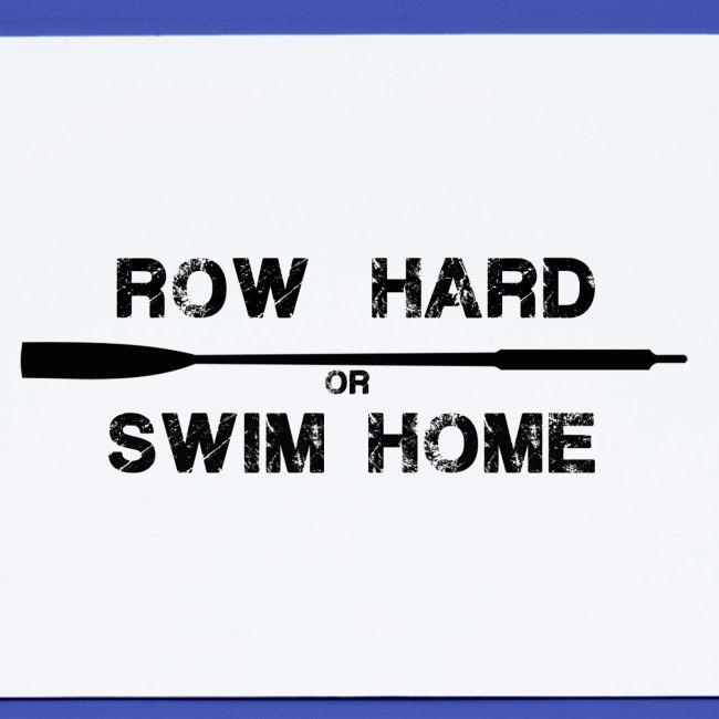 St Ayles Skiff - row hard or swim home