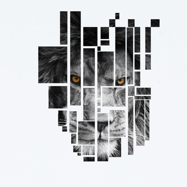 Pixel Lion Tattoo Inspire