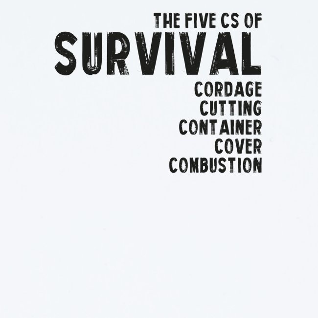 5Cs of Survival List