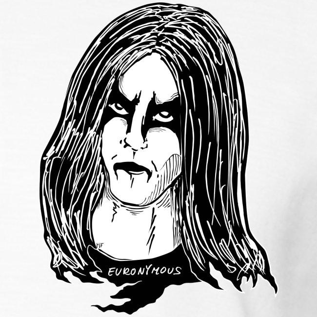 black metal makeup