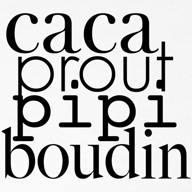 caca prout pipi boudin