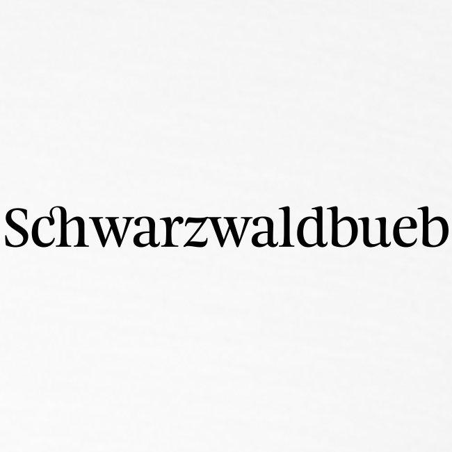 Schwarwaldbueb - T-Shirt
