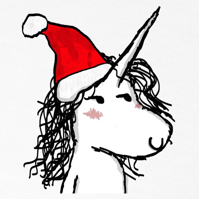 Unicorno di Natale