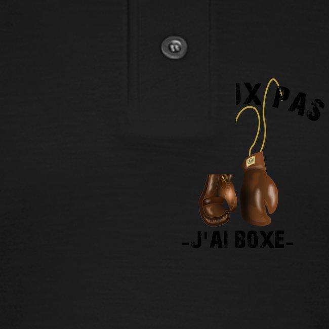 J'peux pas j'ai boxe !