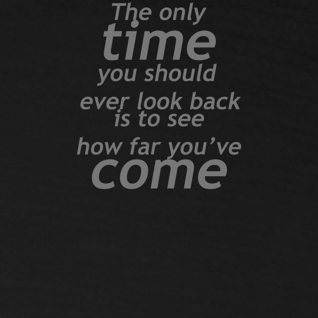 Ne jamais regarder en arrière
