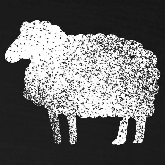 Lustiges Schaf Silhouette Grunge Geschenk Schäfer