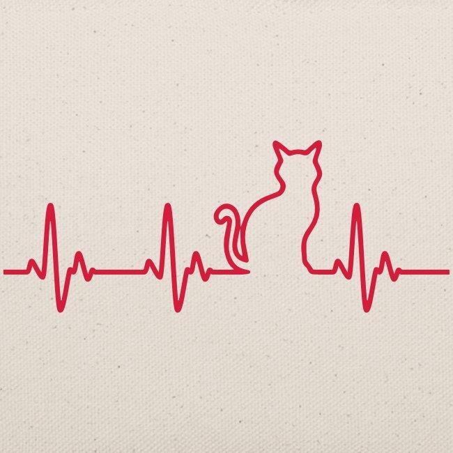 Vorschau: Ein Herz für Katzen - Täschchen