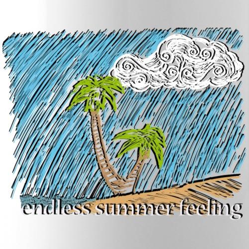 Gesichtsmaske Endless Summer Palmen - Isolierflasche