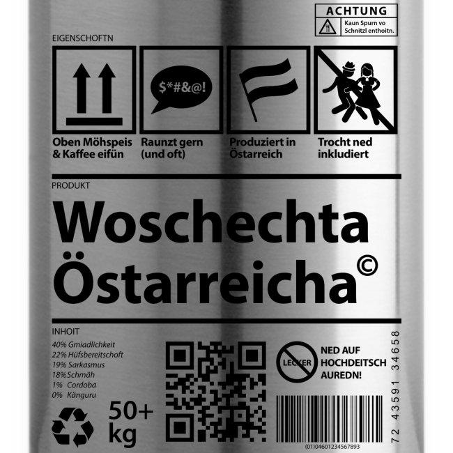 Vorschau: Woschechta Österreicha - Isolierflasche
