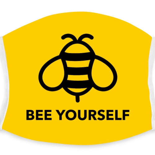 Mascarilla Abejita | Bee Yourself - Mascarilla