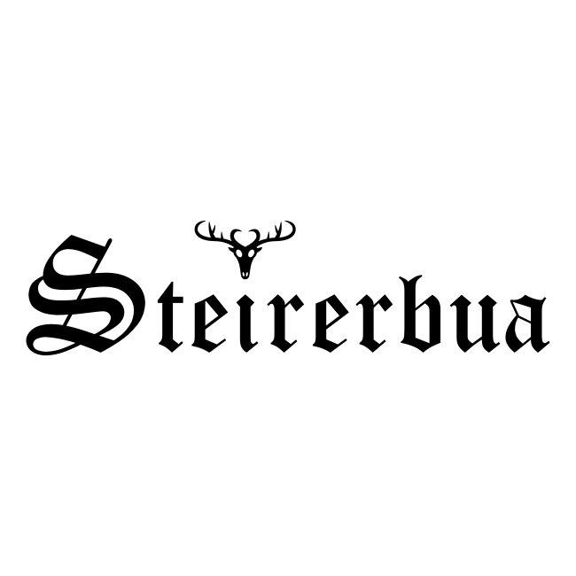 Steirerbua mit Hirsch