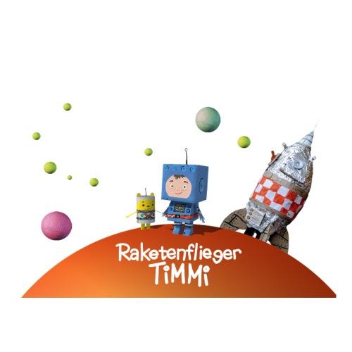 Raketenflieger Timmi - Sticker