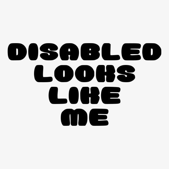 > Een gehandicapte ziet eruit zoals ik