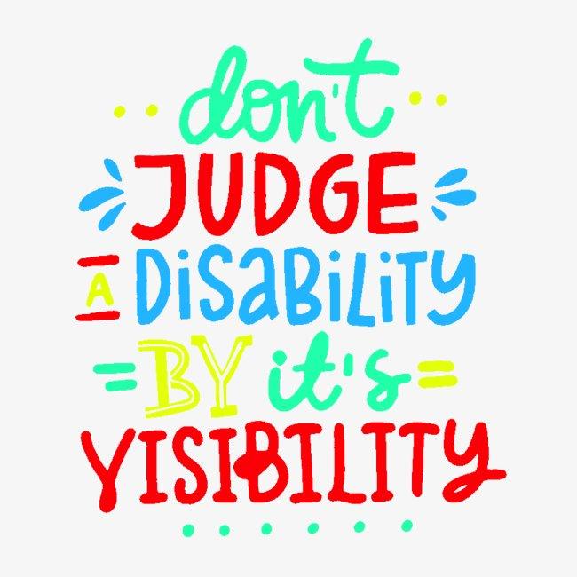 >Oordeel niet over mijn handicap, rolstoel, roller