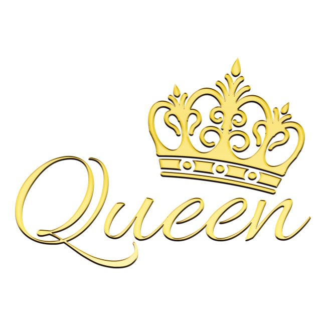 Queen Or -by- T-shirt chic et choc