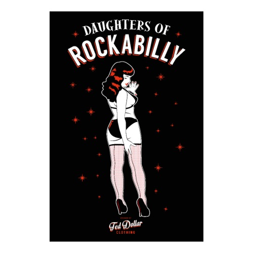 Daugthers of Rockabilly - Autocollant