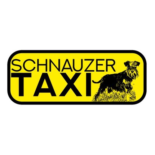 Zwergschnauzer Taxi Sticker Schnauzer lustig Hund - Sticker
