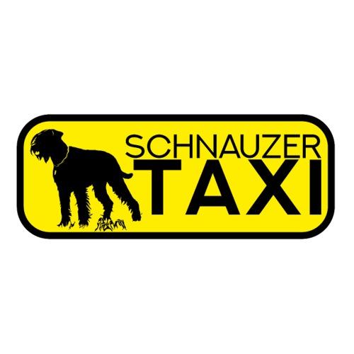 Riesenschnauzer Taxi Sticker Schnauzer lustig Hund - Sticker