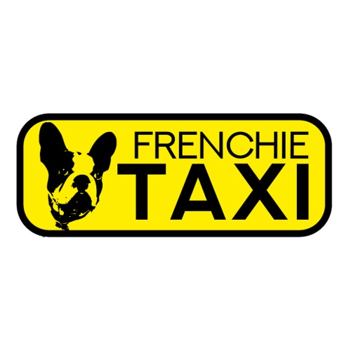 Frenchie Taxi /Sticker lustig French Bulldog Hunde - Sticker