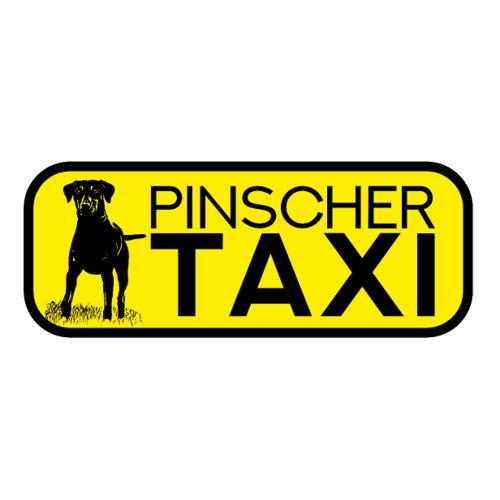 Pinscher Taxi Zwergpinscher Sticker Hunde Geschenk - Sticker