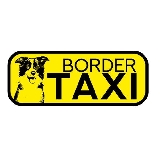 Border Collie Taxi lustige Sticker Hunde Geschenk - Sticker