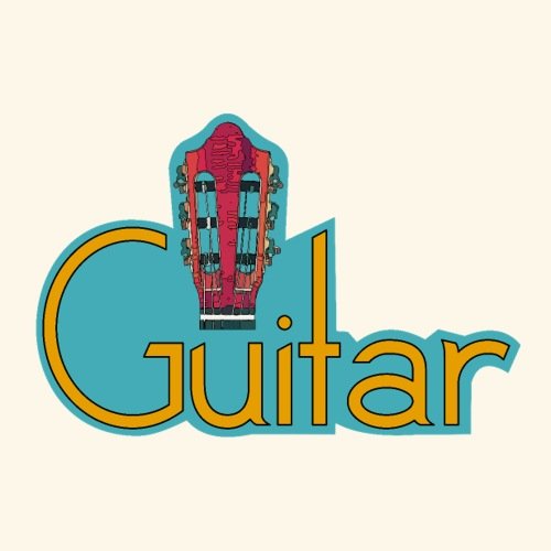 guitar3 2 2 - Sticker
