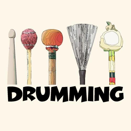 Drumming - Sticker