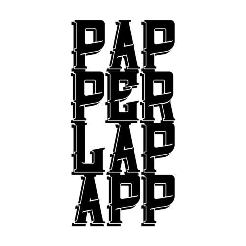 NEU Paperlapapp retro - Sticker