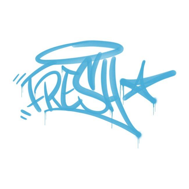 Fresh Graffiti Tag