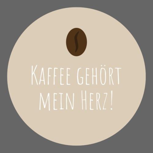 Kaffee gehört mein Herz