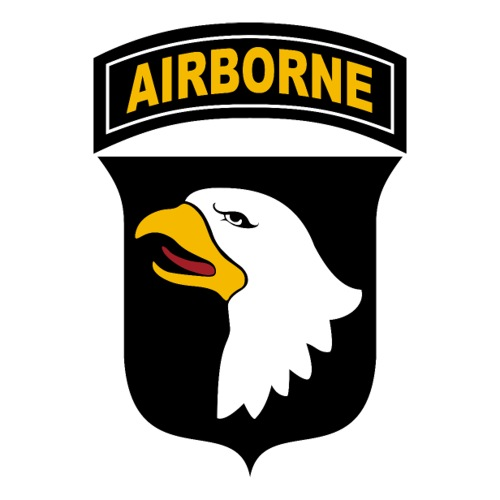 101st Airborne Division patch new - Autocollant
