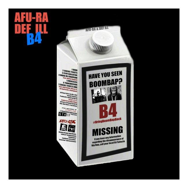 Have you seen Boombap? - Afu-Ra & Def Ill B4 Shirt