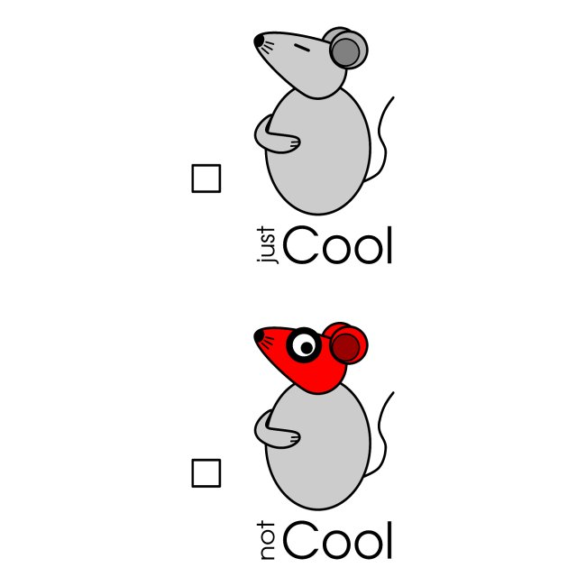Conseil - « just / not Cool » - c