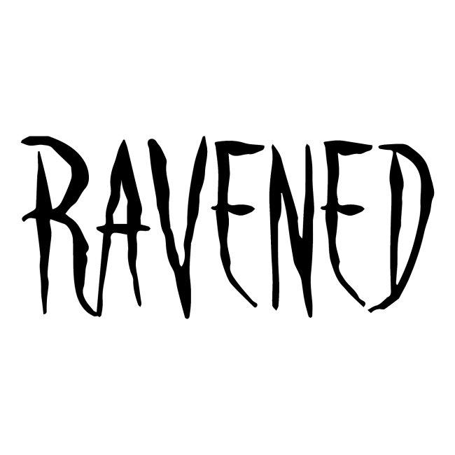 Ravened - Black logo
