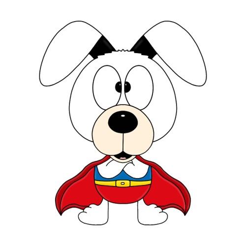 SUPERHELD - HUND - DOG - KIND - BABY - TIERISCH - Sticker