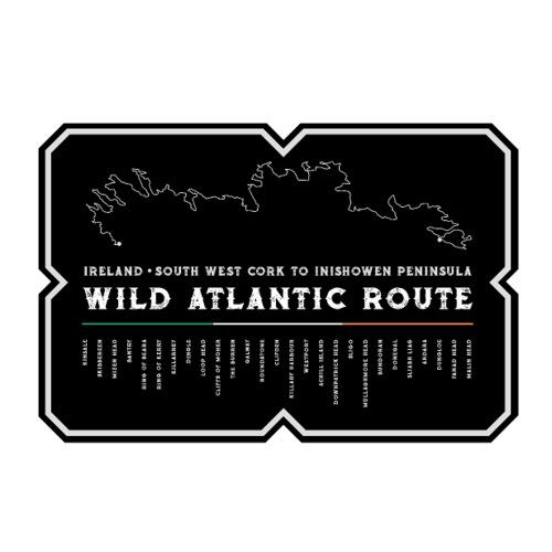 Wild Atlantic Route Ireland Sticker 2 - Sticker
