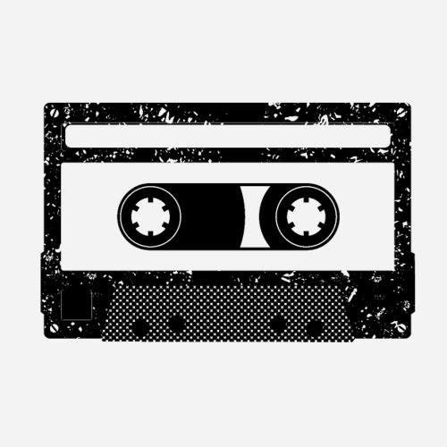Kassette   Kompaktkassette   Compact Cassette - Sticker