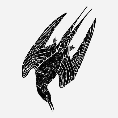 Prachttaucher   colymbus arcticus   Vogel T-Shirt - Sticker