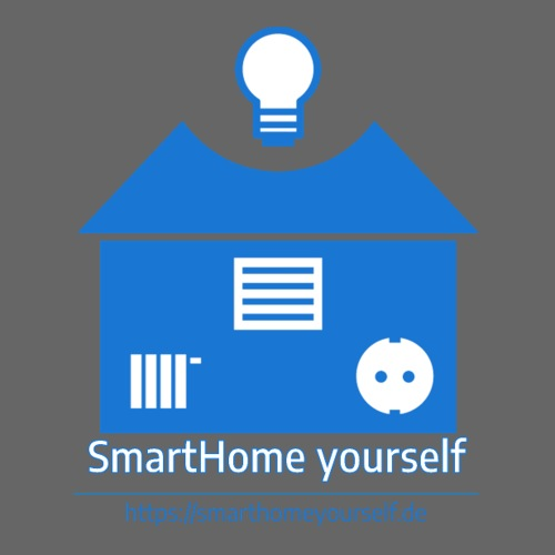 SmartHome yourself Logo Groß - Sticker