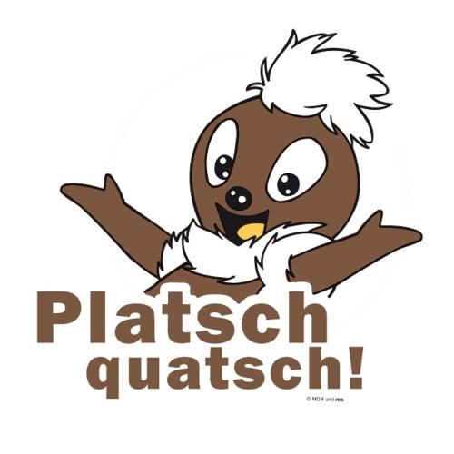 Pittiplatsch 2D Platschquatsch - Sticker