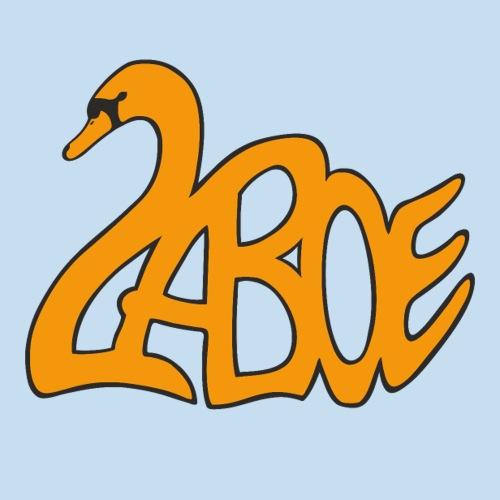 Laboe Schwan orange - Sticker