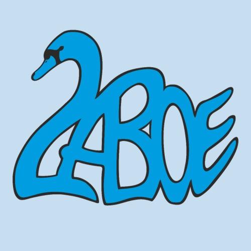 Laboe Schwan blau - Sticker