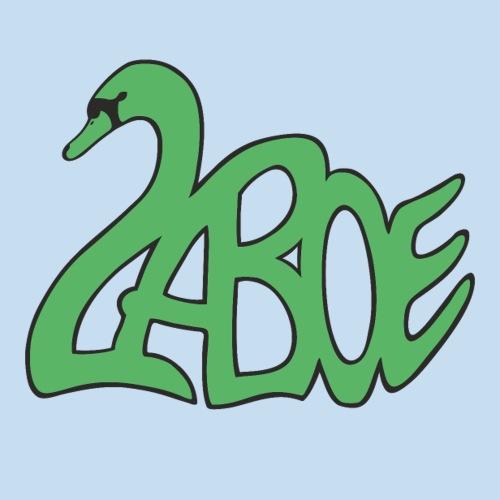 Laboe Schwan grün - Sticker