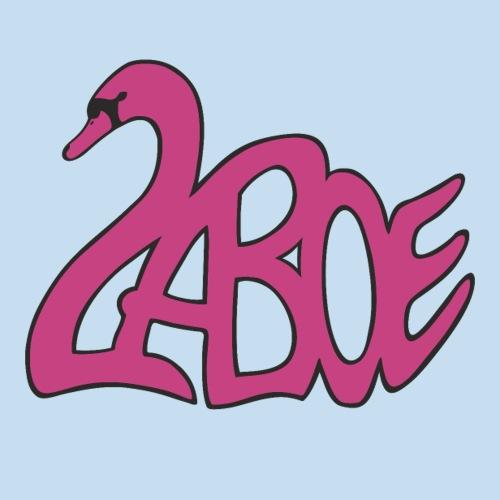 Laboe Schwan pink - Sticker