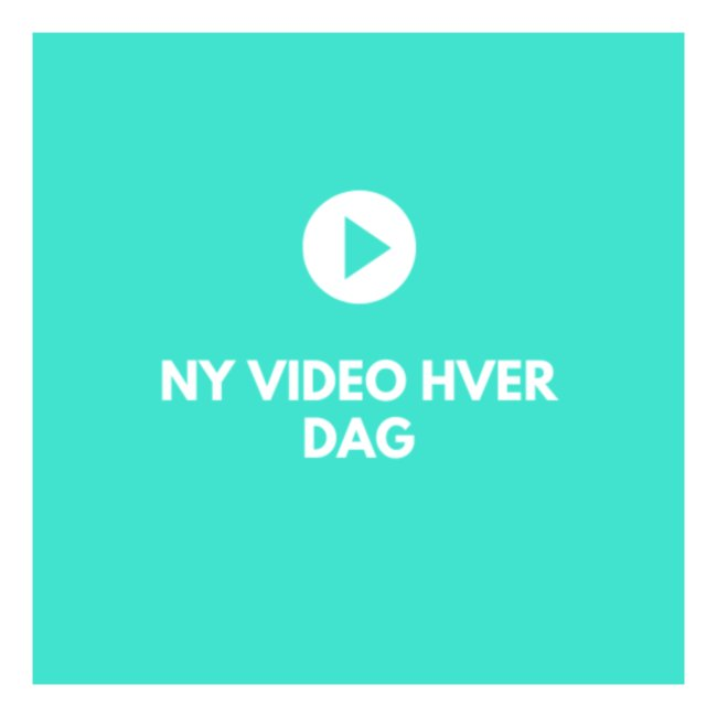 ny video hver dag