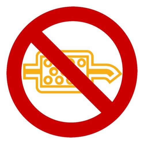 Kein Partikelfilter vorhanden I Dieselholics - Sticker
