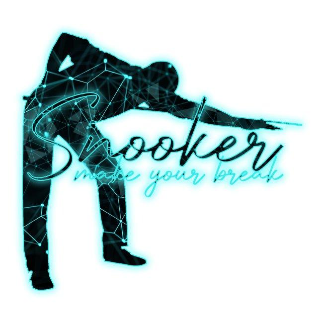 """Snooker Neon """"make your break"""""""