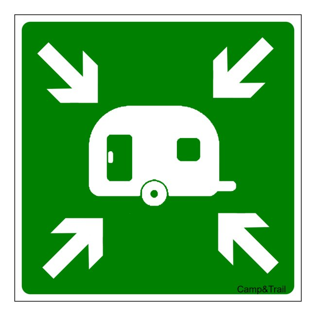 "Sticker ""Meetingpoint Caravan"""