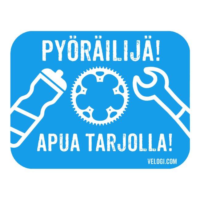 Pyöräilijä - apua tarjolla!