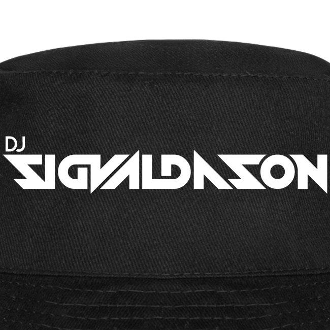 DJ logo hvid